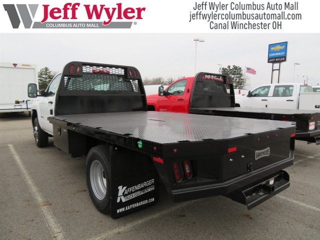 2018 Silverado 3500 Regular Cab DRW 4x4, Knapheide Platform Body #S90733 - photo 2