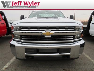 2018 Silverado 3500 Regular Cab DRW 4x4,  Knapheide PGNB Gooseneck Platform Body #S90733 - photo 3
