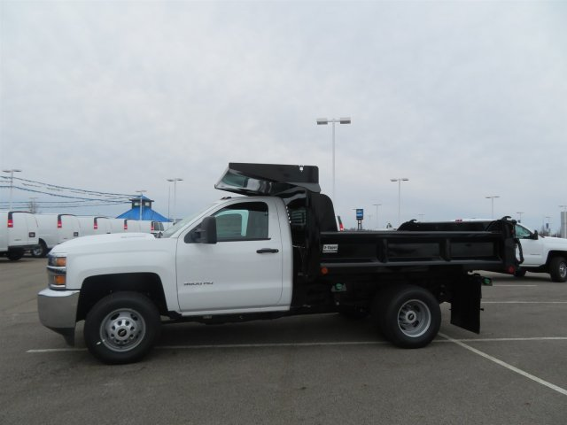 2018 Silverado 3500 Regular Cab DRW 4x4,  Crysteel Dump Body #S90734 - photo 4