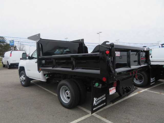 2018 Silverado 3500 Regular Cab DRW 4x4,  Crysteel Dump Body #S90734 - photo 2