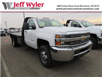 2018 Silverado 3500 Regular Cab DRW 4x4, Knapheide Platform Body #S90736 - photo 1