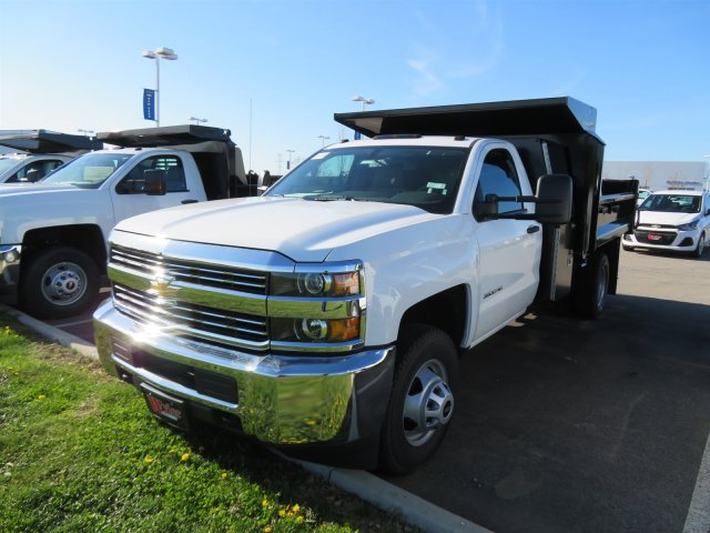2018 Silverado 3500 Regular Cab DRW 4x2,  Crysteel E-Tipper Dump Body #S90738 - photo 4