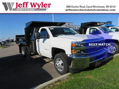 2018 Silverado 3500 Regular Cab DRW 4x2,  Crysteel E-Tipper Dump Body #S90738 - photo 1