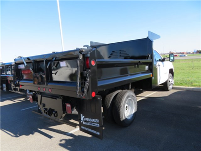 2018 Silverado 3500 Regular Cab DRW 4x2,  Crysteel E-Tipper Dump Body #S90738 - photo 2