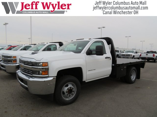 2018 Silverado 3500 Regular Cab DRW, Knapheide Platform Body #S90743 - photo 4