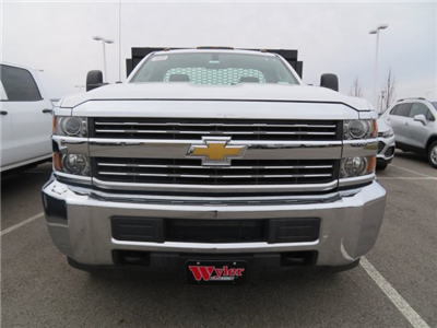 2017 Silverado 3500 Regular Cab DRW, Knapheide Value-Master X Platform Body #S90746 - photo 3
