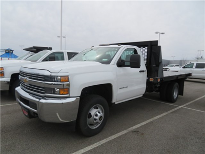 2017 Silverado 3500 Regular Cab DRW, Knapheide Value-Master X Platform Body #S90746 - photo 4