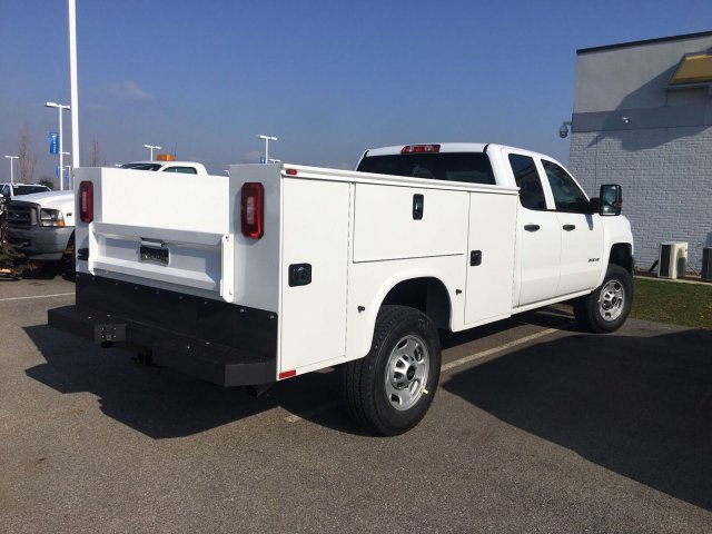2018 Silverado 2500 Double Cab 4x4, Service Body #S90764 - photo 2
