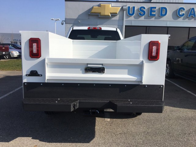 2018 Silverado 2500 Double Cab 4x4, Service Body #S90764 - photo 10