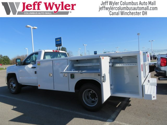 2018 Silverado 3500 Regular Cab DRW 4x2,  Reading Classic II Steel Service Body #S90783 - photo 2