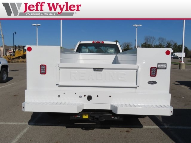 2018 Silverado 3500 Regular Cab DRW 4x2,  Reading Service Body #S90783 - photo 5