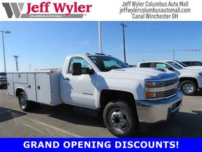 2018 Silverado 3500 Regular Cab DRW 4x2,  Reading Classic II Steel Service Body #S90783 - photo 1