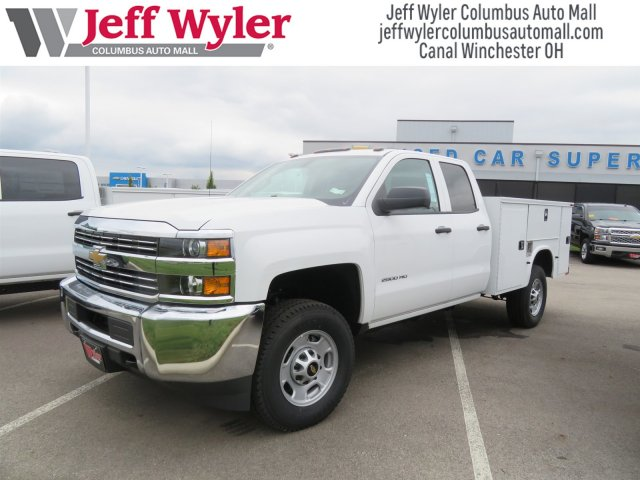 2018 Silverado 2500 Double Cab 4x4,  Knapheide Service Body #S90821 - photo 5