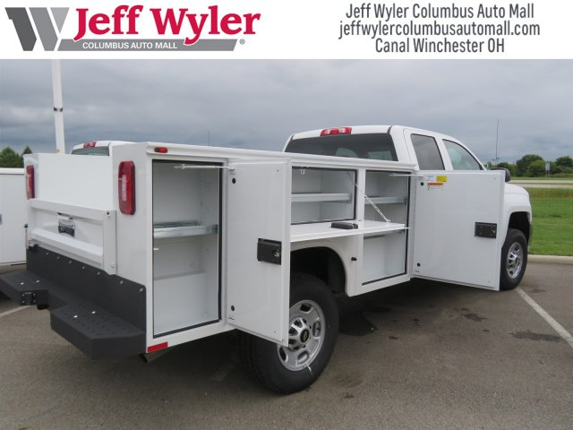 2018 Silverado 2500 Double Cab 4x4,  Knapheide Service Body #S90821 - photo 2