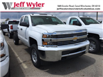 2018 Silverado 2500 Double Cab 4x4, Cab Chassis #S90821 - photo 1