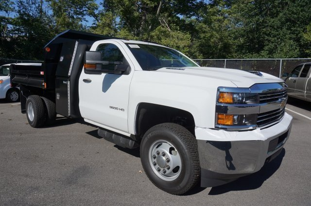 2017 Silverado 3500 Regular Cab DRW 4x4,  Monroe Dump Body #S90835 - photo 7