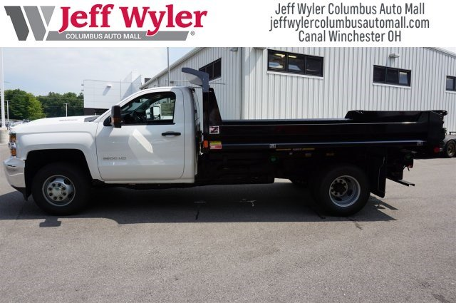 2017 Silverado 3500 Regular Cab DRW 4x4,  Monroe Dump Body #S90837 - photo 3