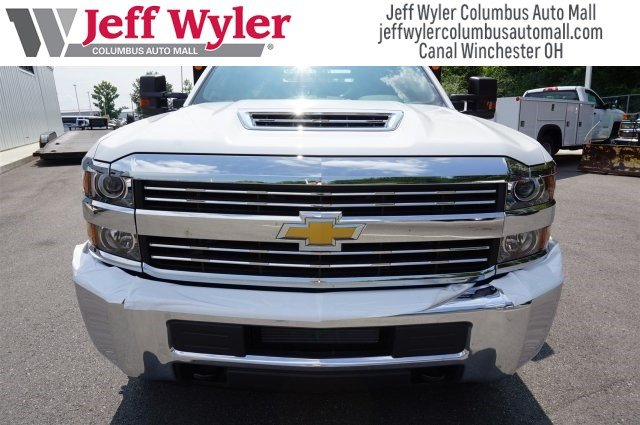 2017 Silverado 3500 Regular Cab DRW 4x4,  Monroe Dump Body #S90837 - photo 8