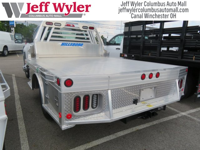 2018 Silverado 3500 Regular Cab DRW 4x4,  Hillsboro Platform Body #S90854 - photo 2