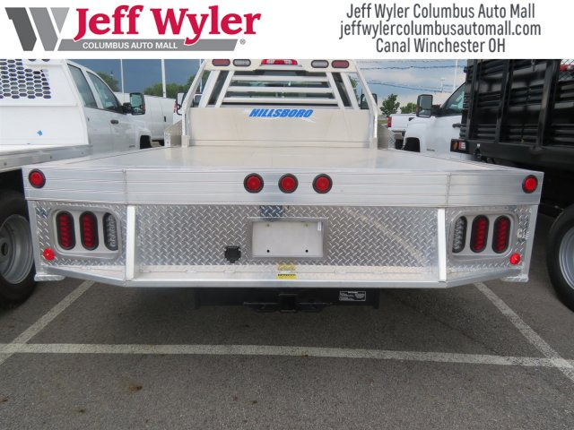 2018 Silverado 3500 Regular Cab DRW 4x4,  Hillsboro Platform Body #S90854 - photo 7