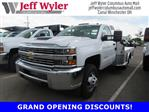 2018 Silverado 3500 Regular Cab DRW 4x4,  Hillsboro Platform Body #S90854 - photo 1