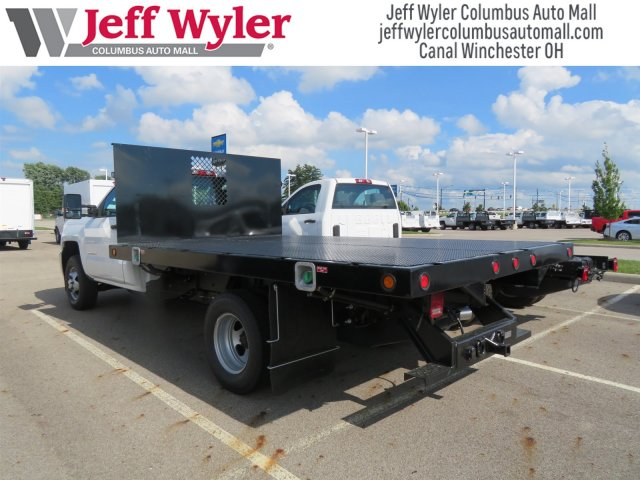 2018 Silverado 3500 Regular Cab DRW 4x4,  Reading Platform Body #S90860 - photo 2