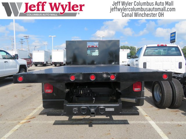 2018 Silverado 3500 Regular Cab DRW 4x4,  Reading Platform Body #S90860 - photo 8