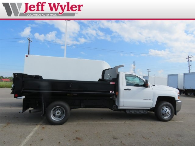 2018 Silverado 3500 Regular Cab DRW 4x4,  Monroe MTE-Zee Dump Body #S90862 - photo 5
