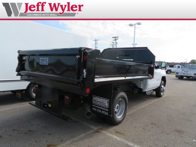 2018 Silverado 3500 Regular Cab DRW 4x4,  Monroe MTE-Zee Dump Body #S90862 - photo 7