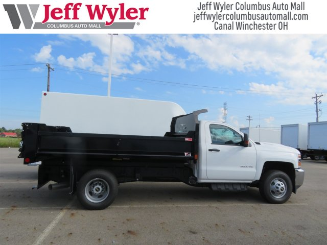 2018 Silverado 3500 Regular Cab DRW 4x4,  Monroe Dump Body #S90862 - photo 6