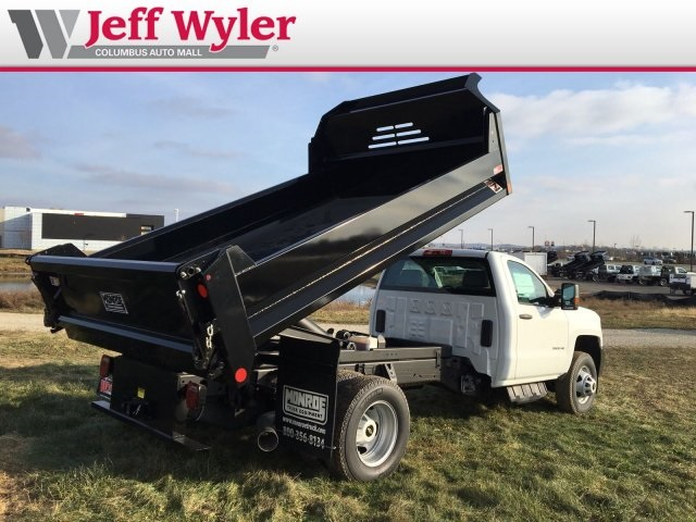 2018 Silverado 3500 Regular Cab DRW 4x4,  Monroe Dump Body #S90863 - photo 2