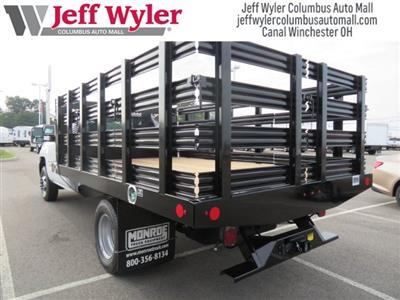 2018 Silverado 3500 Regular Cab DRW 4x2,  Monroe Work-A-Hauler II Stake Bed #S90864 - photo 7