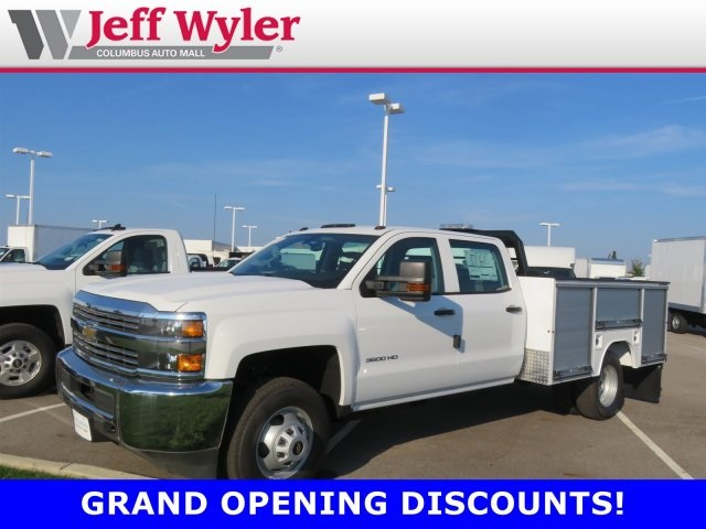 2018 Silverado 3500 Crew Cab DRW 4x2,  Duramag R Series Service Body #S90877 - photo 1