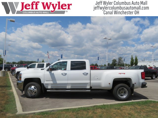 2018 Silverado 3500 Crew Cab 4x4,  Pickup #S90914 - photo 4