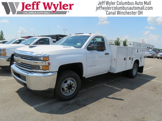 2018 Silverado 3500 Regular Cab DRW 4x2,  Knapheide Service Body #S90921 - photo 4