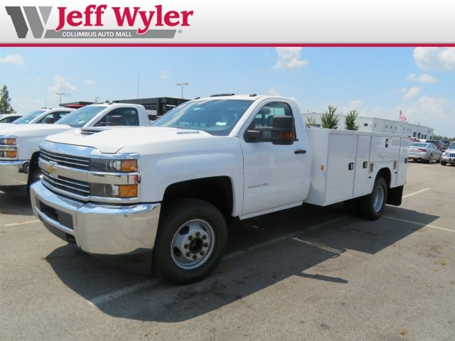 2018 Silverado 3500 Regular Cab DRW 4x2,  Knapheide Service Body #S90921 - photo 5