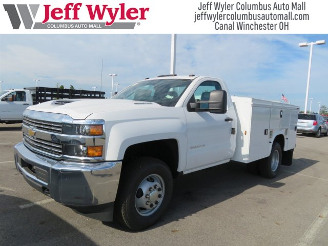 2018 Silverado 3500 Regular Cab DRW 4x4,  Knapheide Service Body #S90922 - photo 3