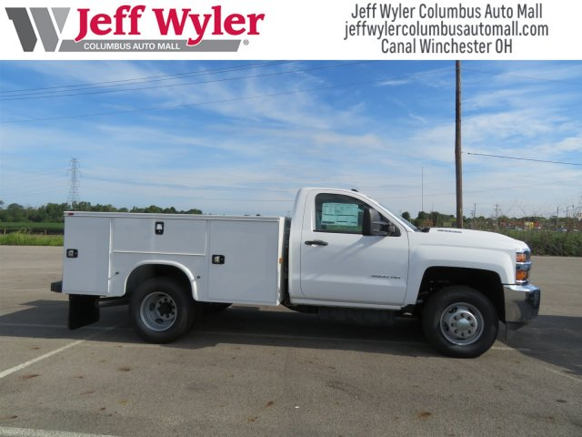 2018 Silverado 3500 Regular Cab DRW 4x4,  Knapheide Service Body #S90922 - photo 6