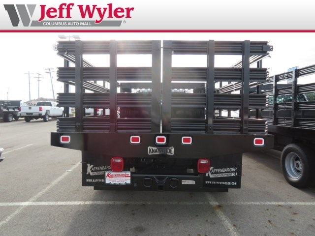 2019 Silverado 3500 Regular Cab DRW 4x2,  Knapheide Value-Master X Stake Bed #S90925 - photo 8