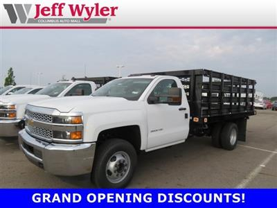 2019 Silverado 3500 Regular Cab DRW 4x2,  Knapheide Value-Master X Stake Bed #S90925 - photo 1