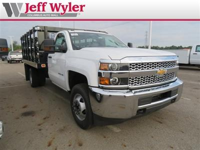 2019 Silverado 3500 Regular Cab DRW 4x2,  Knapheide Value-Master X Stake Bed #S90925 - photo 4
