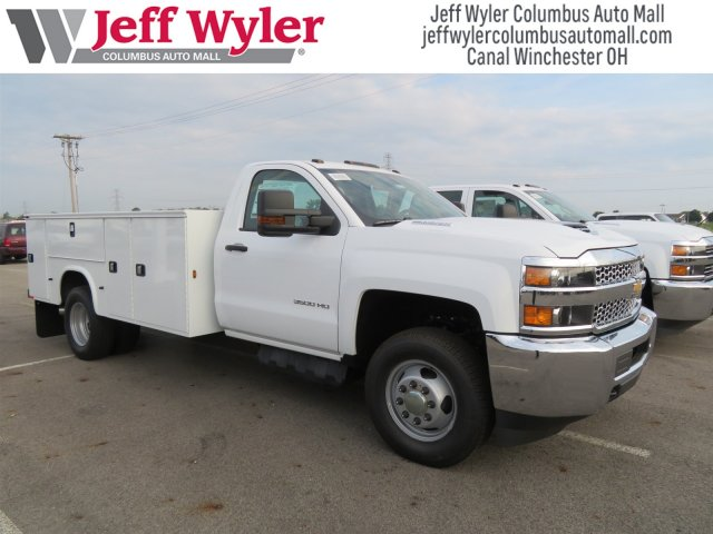 2019 Silverado 3500 Regular Cab DRW 4x4,  Knapheide Service Body #S90926 - photo 4