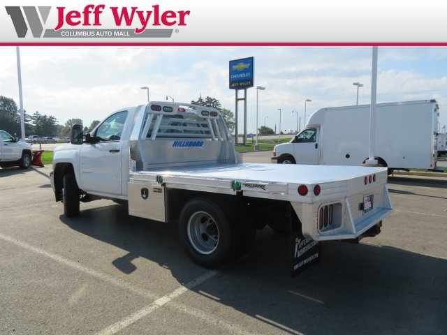 2018 Silverado 3500 Regular Cab DRW 4x2,  Hillsboro Platform Body #S90929 - photo 2