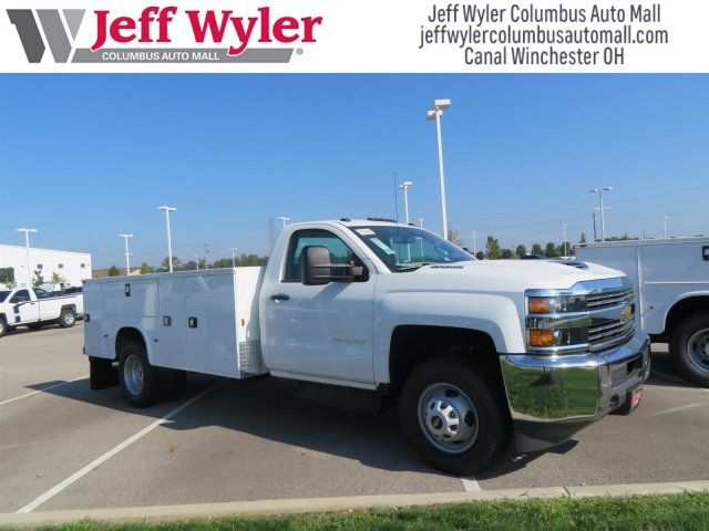 2018 Silverado 3500 Regular Cab DRW 4x2,  Knapheide Service Body #S90931 - photo 4