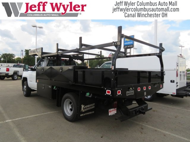 2019 Silverado 3500 Regular Cab DRW 4x4,  Knapheide Contractor Body #S90933 - photo 2