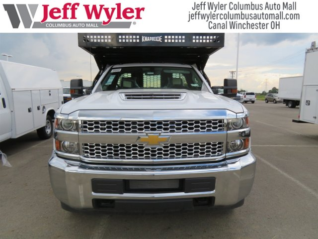 2019 Silverado 3500 Regular Cab DRW 4x4,  Knapheide Contractor Body #S90933 - photo 3