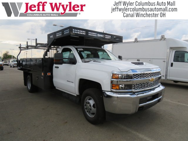 2019 Silverado 3500 Regular Cab DRW 4x4,  Knapheide Contractor Body #S90933 - photo 4