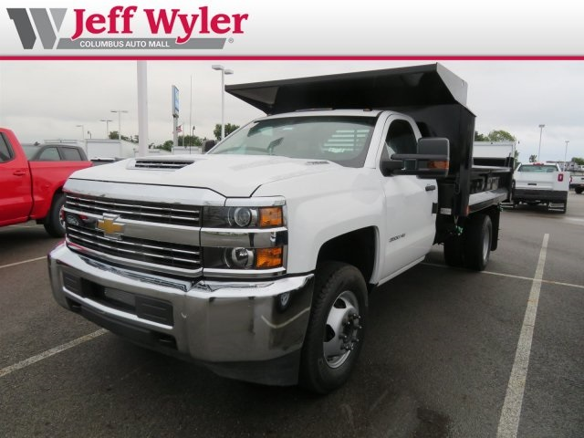 2018 Silverado 3500 Regular Cab DRW 4x2,  Crysteel Dump Body #S90936 - photo 5