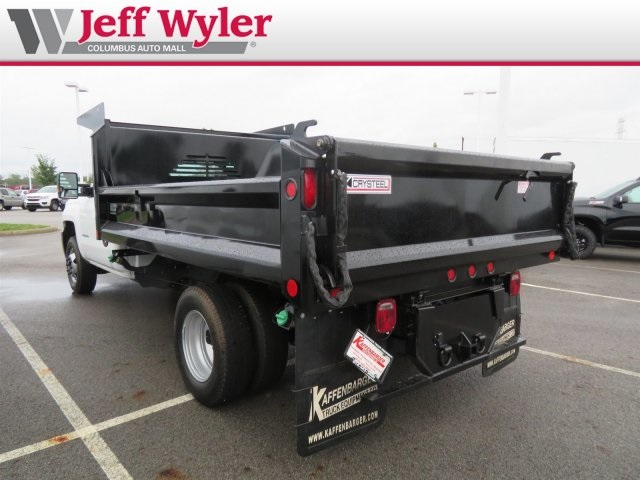 2018 Silverado 3500 Regular Cab DRW 4x2,  Crysteel Dump Body #S90936 - photo 3