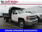 2018 Silverado 3500 Regular Cab DRW 4x2,  Crysteel Dump Body #S90936 - photo 1
